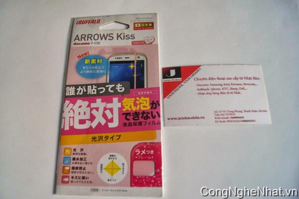 Dán màn hình Fujitsu Arrows Kis F-03E siêu sáng