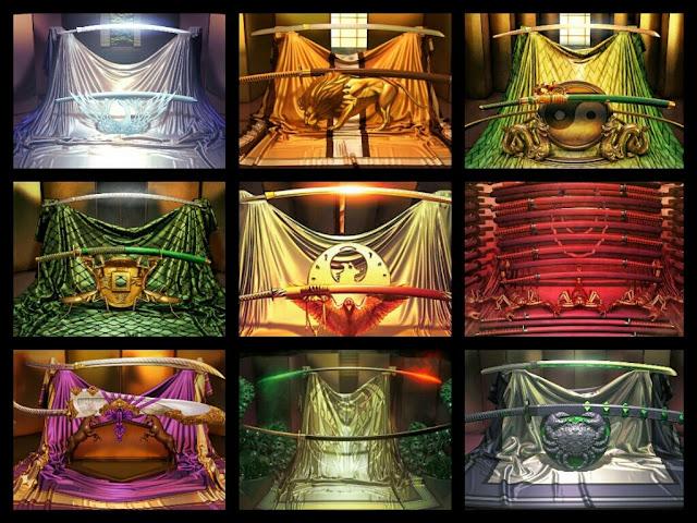 Celestials Swords