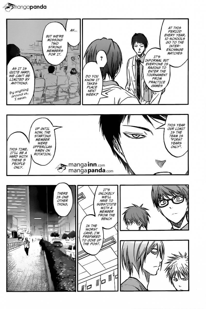 Kuroko no Basket Manga Chapter 207 - Image 17