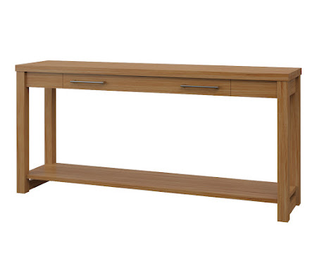 Sumatra Sofa Table in Manor Hickory