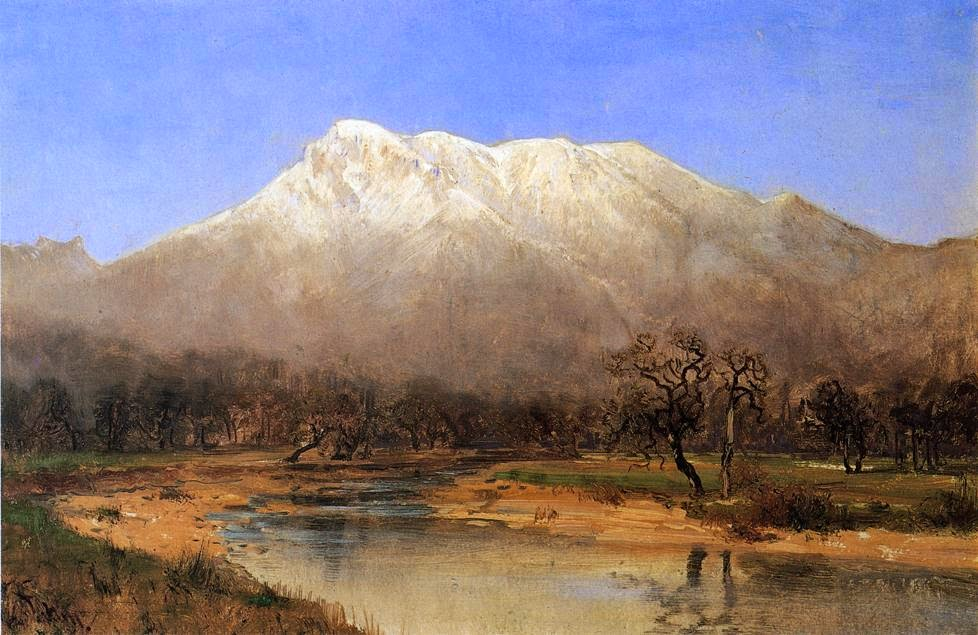 Thomas Hill - Mount St. Helena Napa Valley 1887