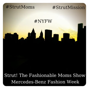 The Chatty Momma Mercedes-Benz Fashion Week Strut Moms