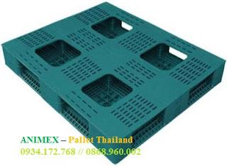 Pallet nhựa mặt lưới Thái Lan