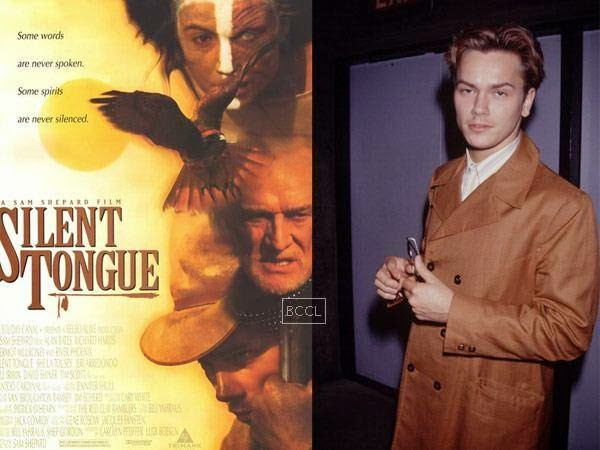 "River Phoenix died at the age of 23 after a drug-induced heart failure. His final completed film, ""Silent Tongue,"" was released four months after his death."