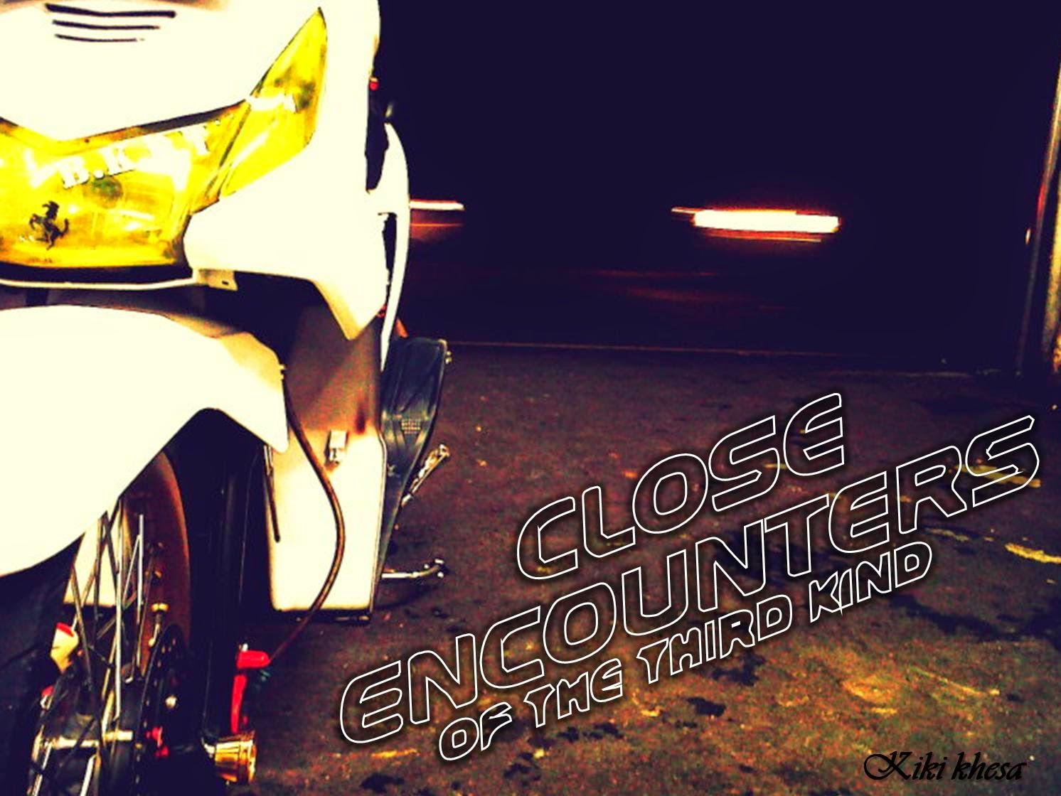 Modifikasi Honda Beat Gaya Road Race