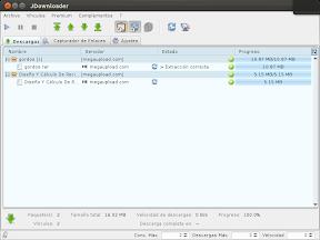 JDownloader, Ubuntu y Unity o como gestionar tus descargas