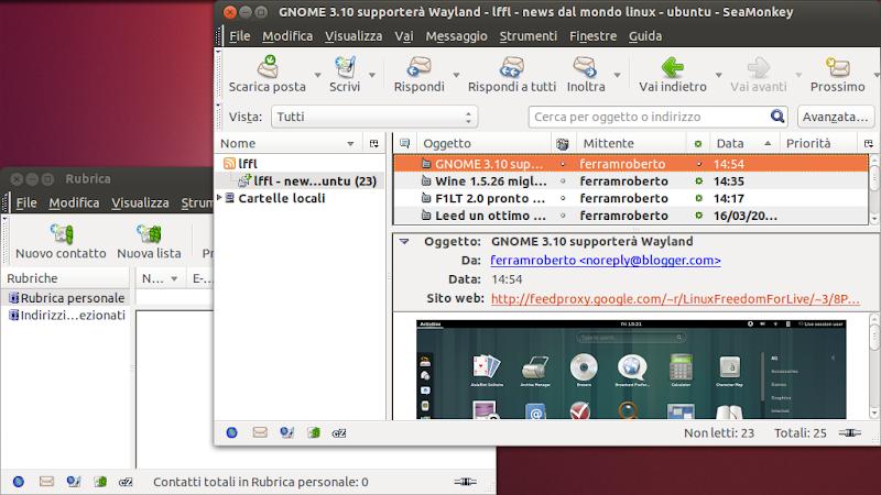 Seamonkey molto pi di un semplice browser per distro for Come leggere i progetti per i manichini