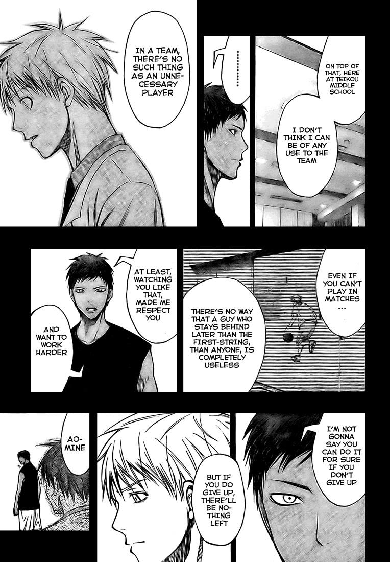 Kuroko no Basket Manga Chapter 124 - Image 11