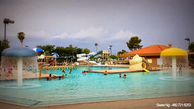 Gilbert Public Pool Mesquite Aquatic Center Gilbert Az Real Estate