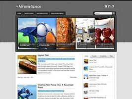 Minima-Space WordPress Theme