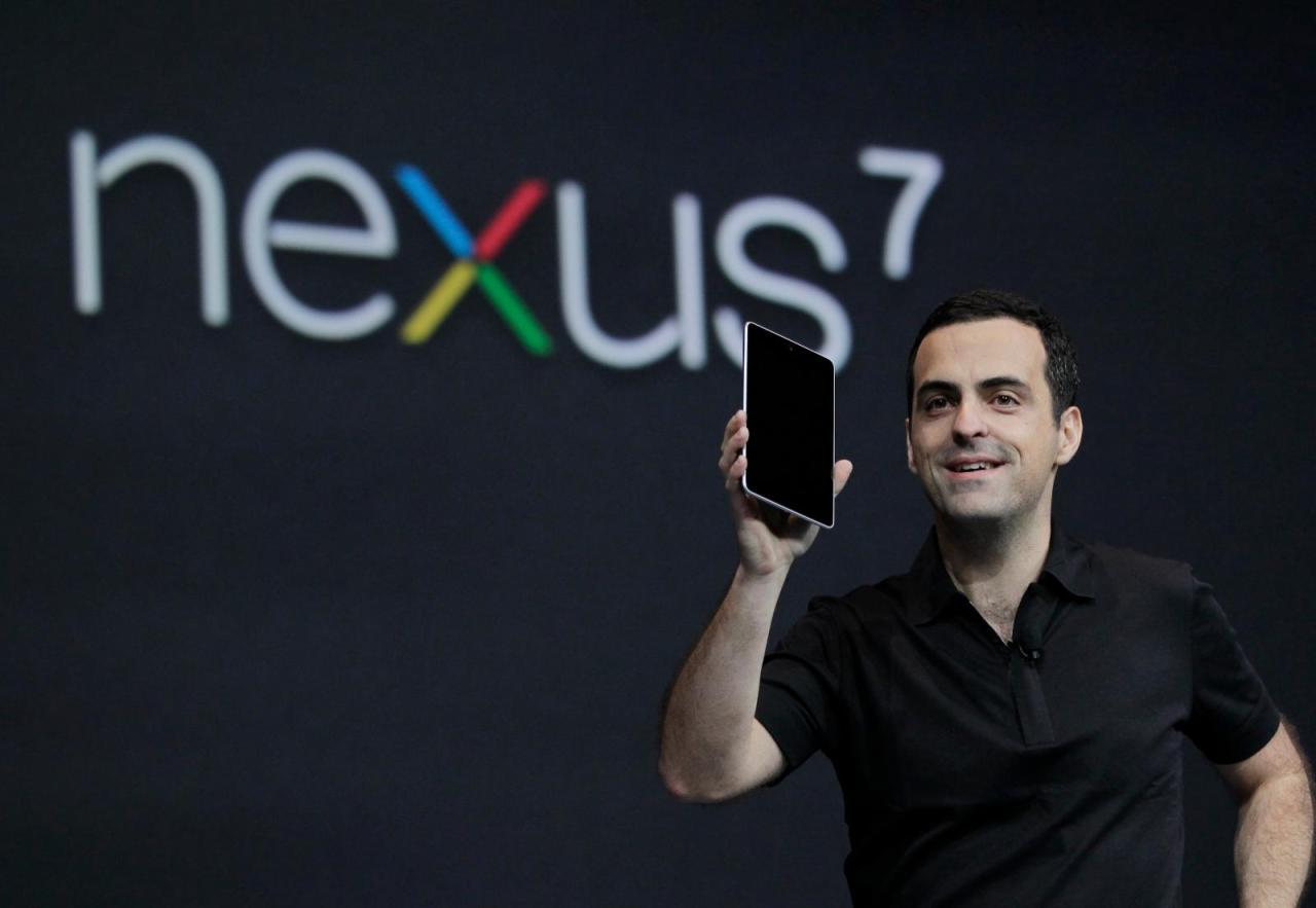 Google launch With a Stunning Nexus 7 display