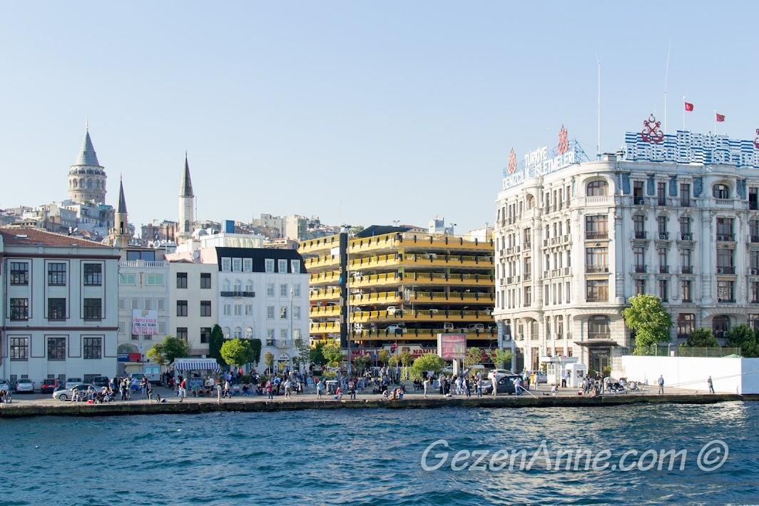 Karaköy ve Galata Kulesi manzarası