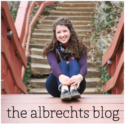 Grab button for THE ALBRECHTS BLOG