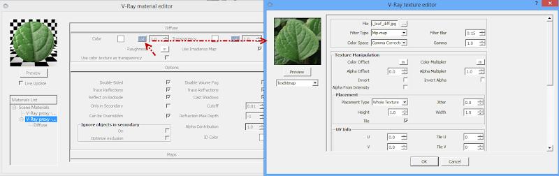 ขอถามเกี่ยวกับการเรนเดอร์ vray v .2 ครับ   ติีกที่ Use color texture as transparency  ขอบไม่หายครับ  3dprox2su05