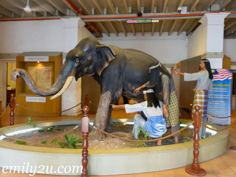 Ngah Ibrahim Fort Matang Museum
