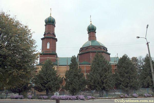 """Пам'ятка національного значення - Іллінська церква 1700-1886 р.р. після """"реставрації"""""""
