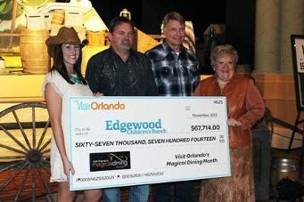 Holiday Gift to Edgewood Children's Ranch