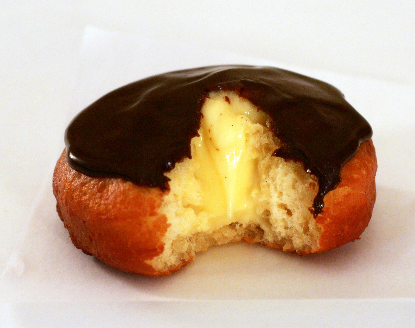 Tish Boyle Sweet Dreams: Boston Cream Doughnuts