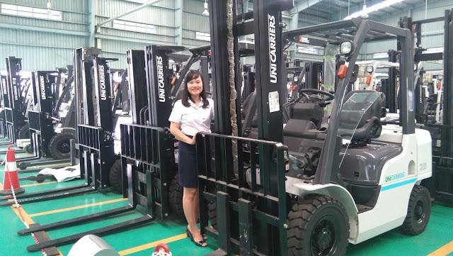 Xe nâng Unicarriers 2.5t và 3 tấn cao cấp