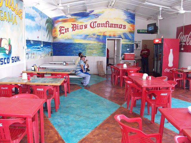 Tacos Brissa Interior Rocky Point