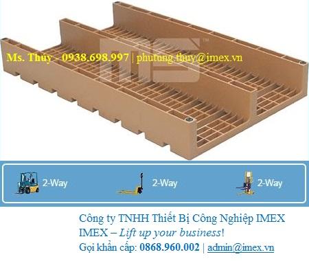 Pallet nhựa Malaysia EN2-1006 nhập khẩu