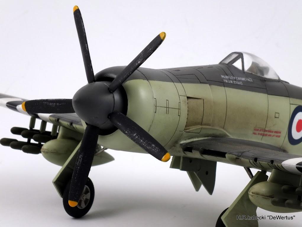 Korea 1950-53; Sea Fury FB.11, KITECH 1/48 DSCF3966