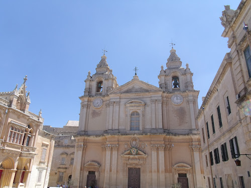Mdina church Malta