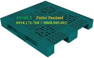 Pallet nhựa mở mặt lưới nhập khẩu