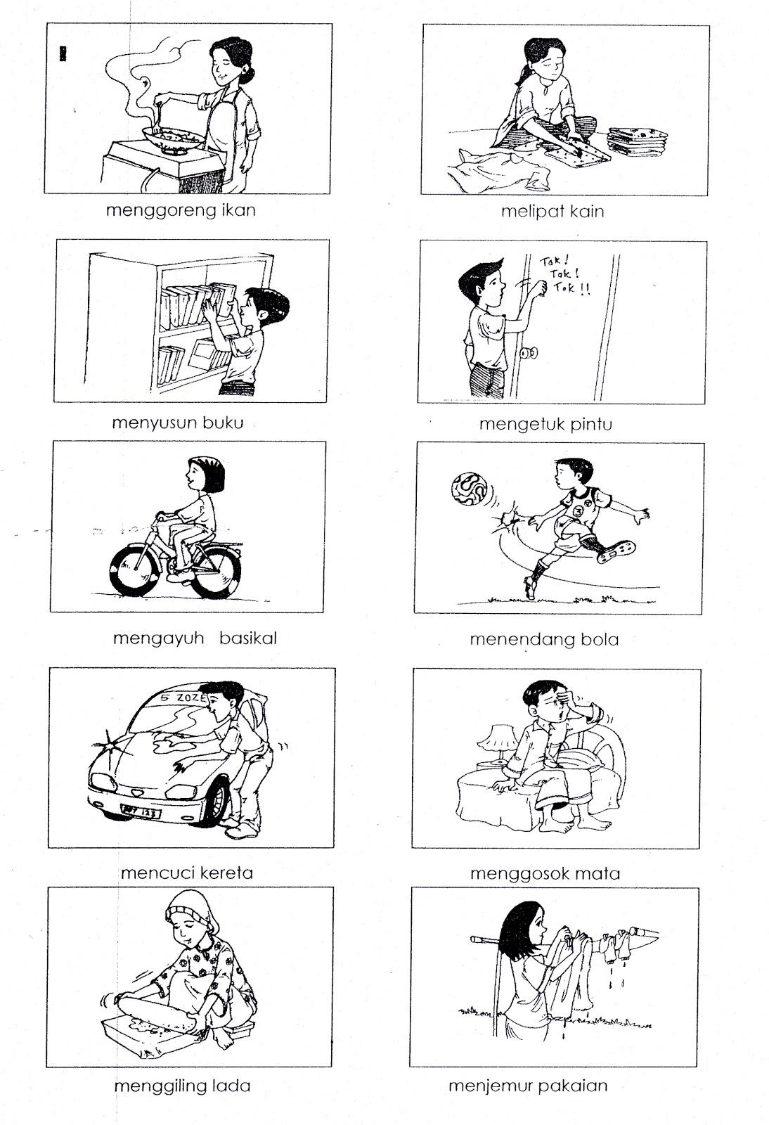 Gambar kosa kata worksheets for kindergarten Pinterest