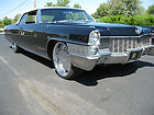 1965 Cadillac Eldorado Convertible 2-Door 429 Black/Black/White Top. Like a 1966