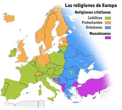 Paises De Europa. los países de Europa: