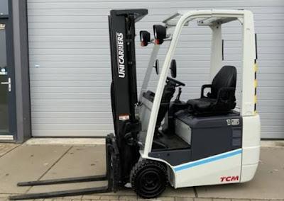Xe nâng điện 3 bánh TCM Nhật Bản