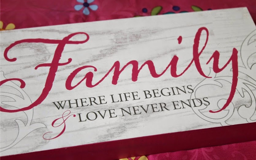 Family Where Life Begins Love Never Ends - Mommy to Be Gift Basket Ideas #BestMomsDayEver