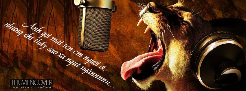 Ảnh bìa động vật hát karaoke