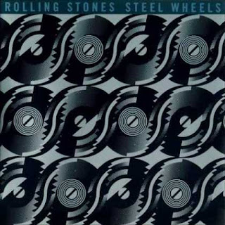 The Rolling Stones - Steel Wheels album cover