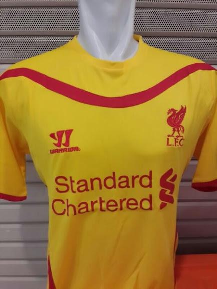 Jual Jersey Liverpool Away 2014-2015