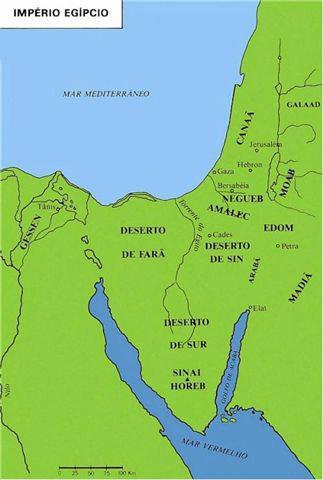 Imprio Egpcio  Mapas Bblicos
