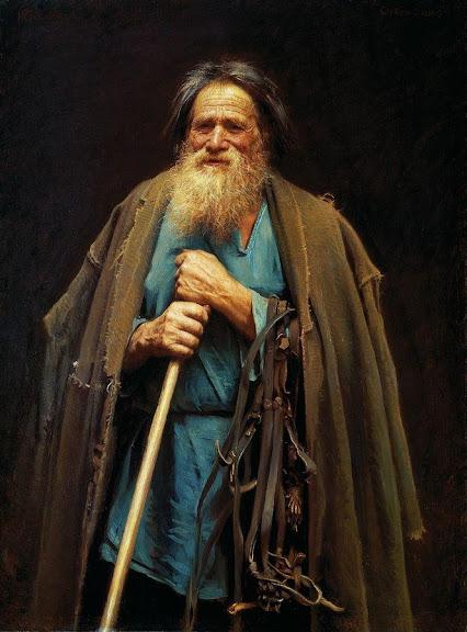 Ivan Kramskoy - Portrait of Mina Moiseyev