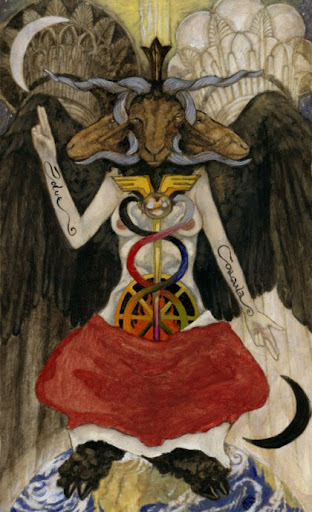 Occult Master And The Mary El Tarot Image