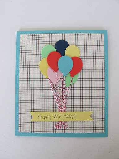 Another balloon card....
