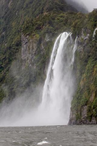 Milford Sound New Zealand Waterfalls
