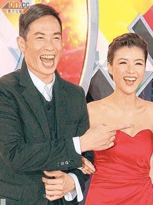 陳豪與陳茵媺拍拖近兩年,最近男友睇中大埔比華利山獨立屋,準備娶女友。(資料圖片)