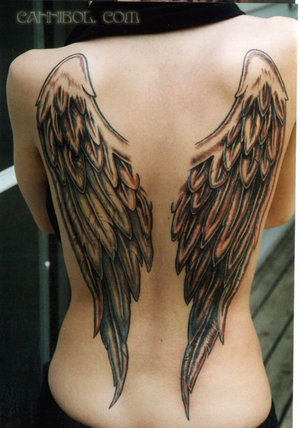 The second of my Angel Wing