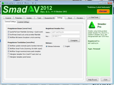 Download Smadav 2012 Revisi 9.1.1
