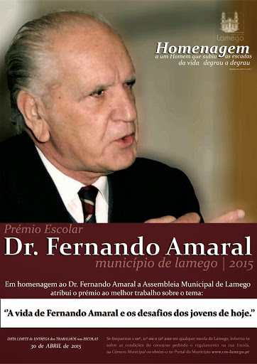 Lamego abre inscrições para Prémio Escolar Dr. Fernando Amaral