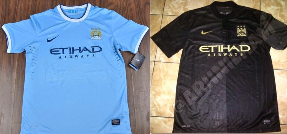 Manchester City 2014 Shirts home away kits