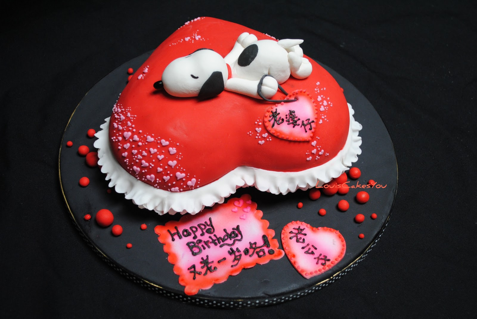 Birthday Cake Designs For Gf : LOLcake: Snoopy Cake