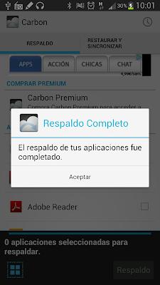 Carbon Backup 18