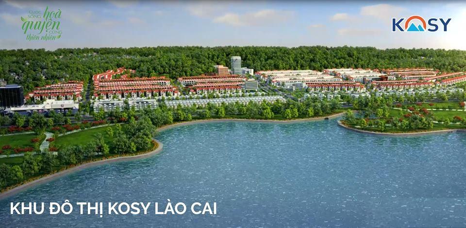 Tổng thể dự án Kosy Lào Cai