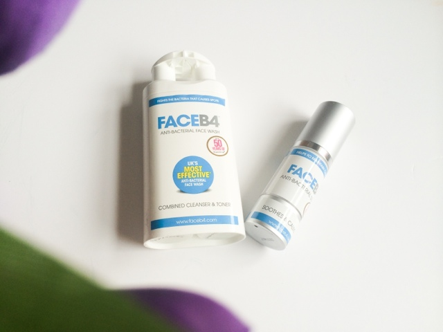FaceB4 review with before and after photos